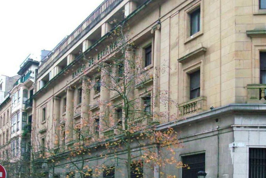 Rehabilitación del Antiguo Edificio del Banco de España</br>San Sebastián</br>Proyecto</br>2020