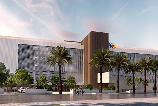 Sede Judicial de Alzira</br>Valencia</br>En proyecto