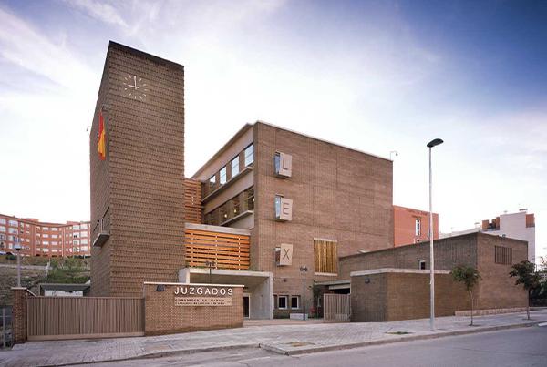Nueva sede de Juzgados de Arganda del Rey</br>Madrid</br>2006