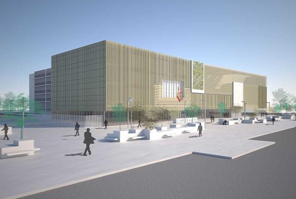 Primera Fase del campus de la Justicia Valladolid</br>Proyecto</br>2014