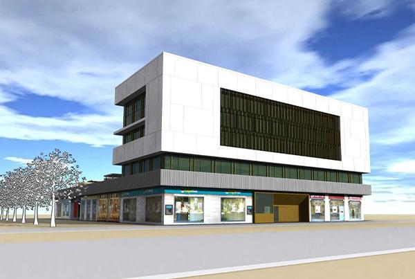 Edificio de oficinas Invesgar </br>Zaragoza</br>Proyecto</br>2008