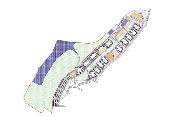 Pau y Plan Parcial en Arroyo del Fresno </br>Madrid</br>1998
