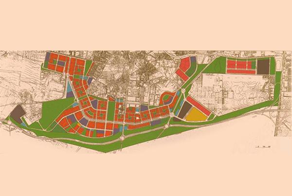Plan parcial de Carabanchel Alto</br>Madrid</br>1993