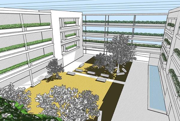 Nueva Residencia para Personas Mayores Asistidas en Dos Hermanas</br>Montequinto</br>Sevilla</br>2008