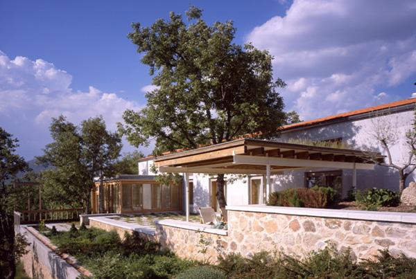 Casa Vanhecke en La Granja de San Ildefonso</br>Segovia</br>1998