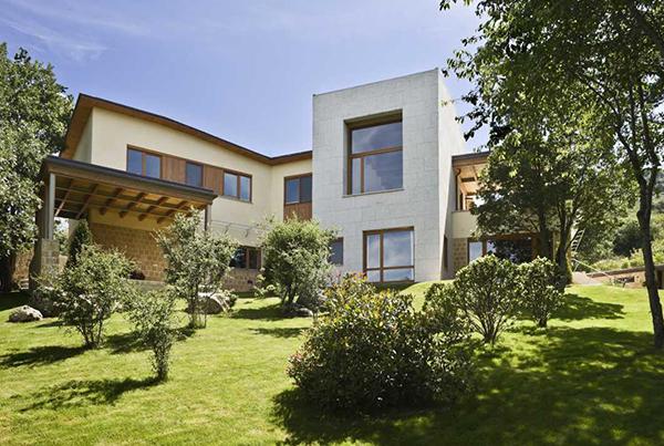 Vivienda Unifamiliar en la Granja de San Ildefonso Segovia</br>2009